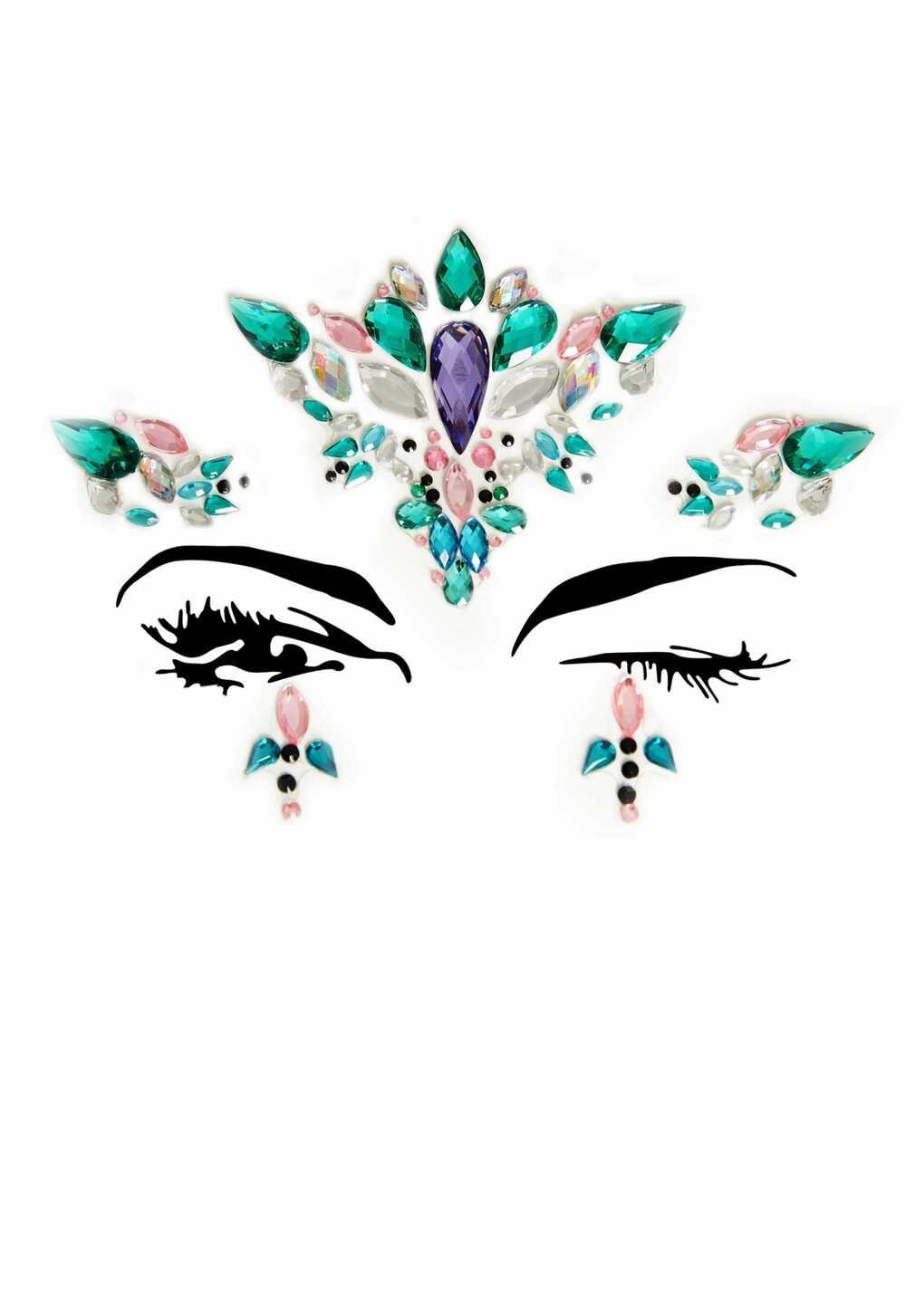 Afbeelding1 Artikel: Face jewels met groen en paars Variant: 1988 Parent: 930 Datum: 30/08/2019 22:19:02