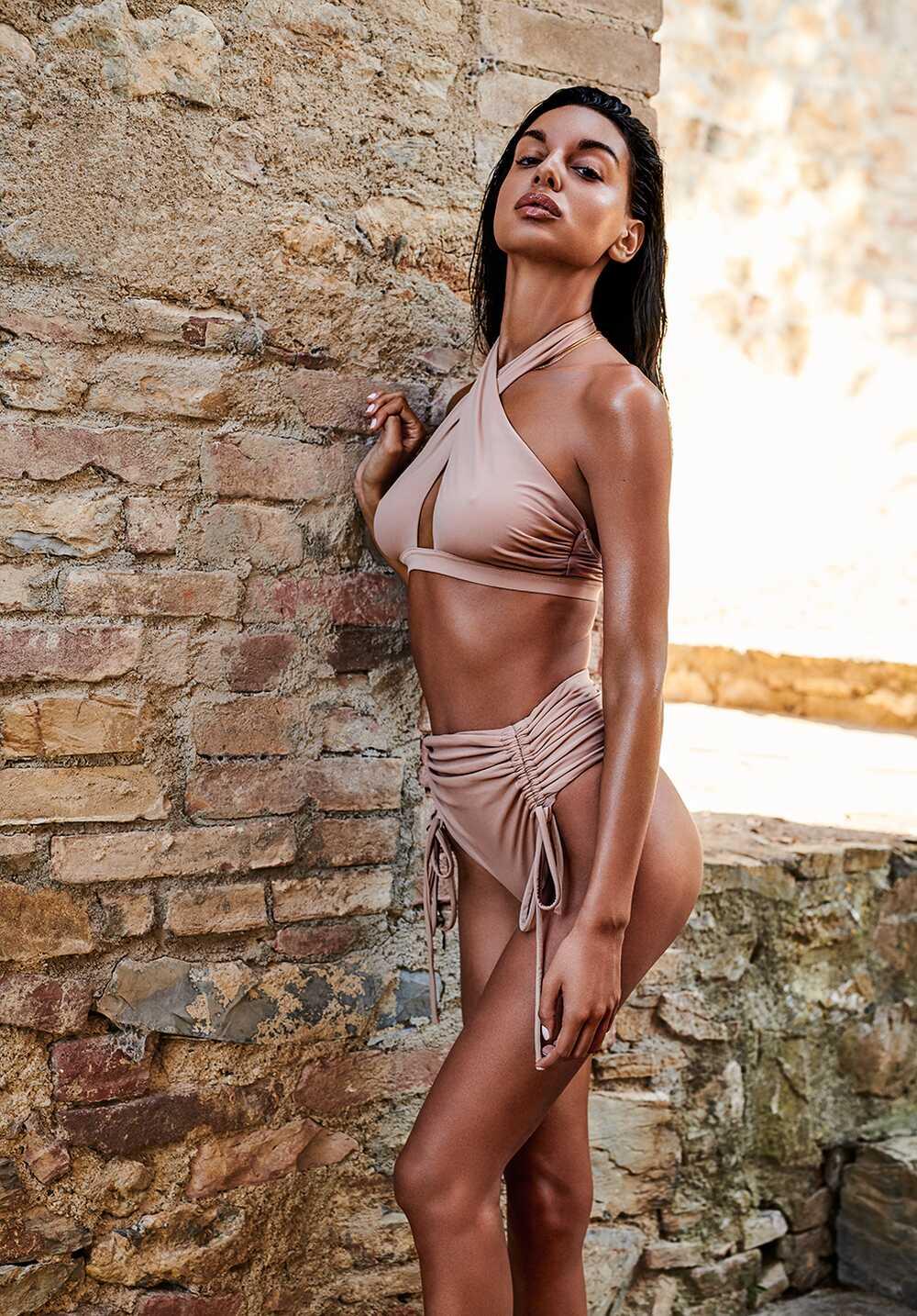 Afbeelding4 Artikel: Beige Bikini met hoge taille Variant: 1134 Parent:  Datum: 05/06/2020 21:23:29