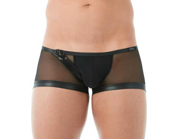 Break in mesh Boxer Zwart