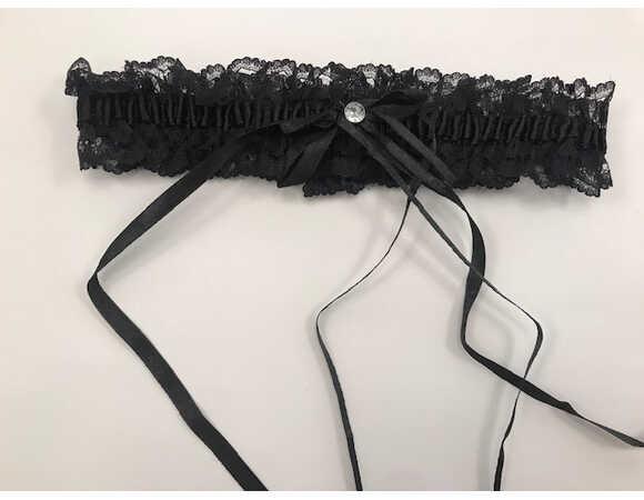 Afbeelding3 Artikel: Kousenband met strass en velcrosluiting. Variant: 837 Parent:  Datum: 03/08/2019 13:29:29