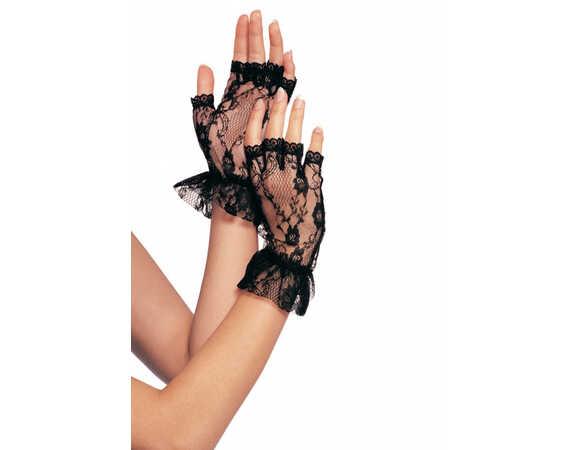 Kanten, vingerloze handschoentjes