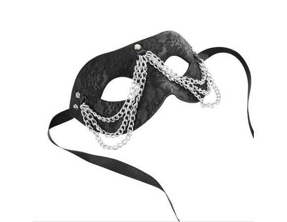 Masker met ketting