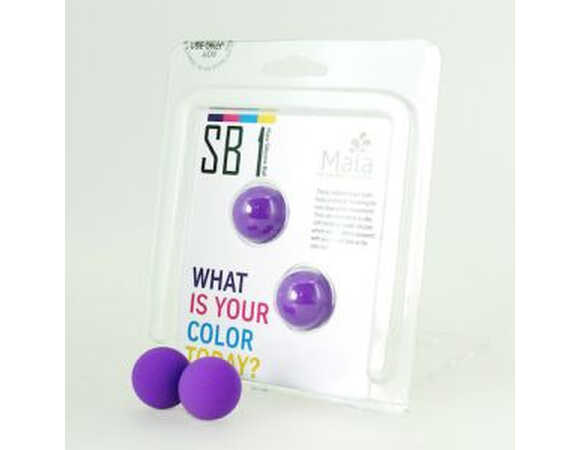 Chummy purple balls